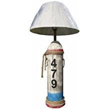 Distressed-Wood-Lamp The Best Beach Themed Lamps You Can Buy