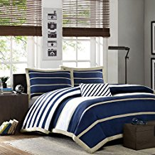 Mi-Zone-Ashton-Duvet-Cover-Set-Navy-Blue The Best Nautical Duvet Covers You Can Buy