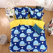 OWLHT-3-Pieces-Bedding-Sets-for-Unisex-1-Duvet-Cover The Best Nautical Duvet Covers You Can Buy