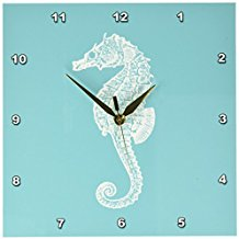 Seahorse-Wall-Clock The Best Beach Wall Decor You Can Buy