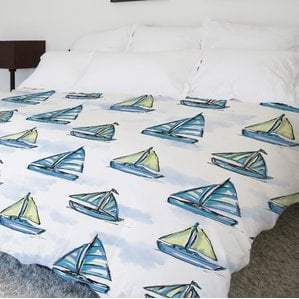 boats-main-fleece-duvet-cover The Best Nautical Duvet Covers You Can Buy