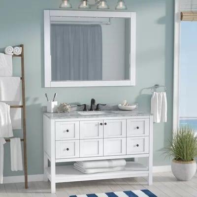 caldwell-bathroom-vanity-set-with-mirror Beach Bathroom Decor