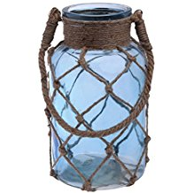 cape-cod-style-net-covered-lantern Nautical Lanterns and Beach Lanterns