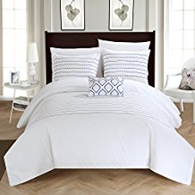chic-home-white-duvet-cover-set The Best Beach Duvet Covers For Your Coastal Home