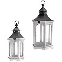 distressed-wooden-lantern Nautical Lanterns and Beach Lanterns