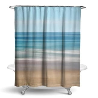 epping-beach-shower-curtain Beach Bathroom Decor