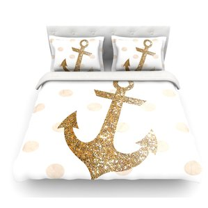 glitter-anchor-duvet-cover The Best Nautical Duvet Covers You Can Buy