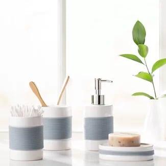 hardy-4pc-bathroom-accessory-set Beach Bathroom Decor