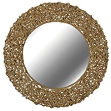 kenroy-home-seagrass-wall-mirror The Best Beach Wall Decor You Can Buy