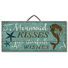 mermaid-kisses-starfish-wishes-8 The Best Beach Wall Decor You Can Buy