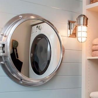 nautical-bathroom-lighting-1 Beach Bathroom Decor