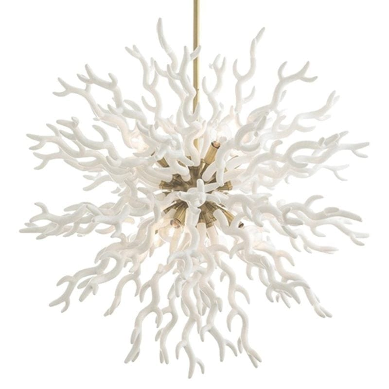 white-coral-coasta-beach-chandelier-1-800x800 Nautical Chandeliers
