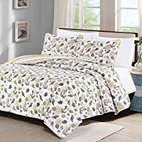 3pc-king-quilt-anchor-themed The Best Nautical Quilts and Nautical Bedding Sets