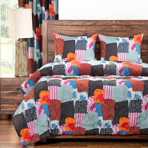 Boho-3-Piece-Comforter-Set Bohemian Bedding and Boho Bedding Sets