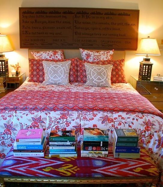 Boho-Bedroom-by-Lisa-Borgnes-Giramonti Bohemian Bedding and Boho Bedding Sets