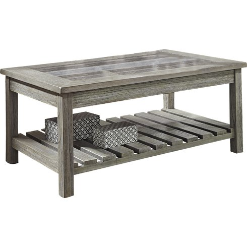 Briarwood-Coffee-Table-with-Magazine-Rack The Best Beach and Coastal Coffee Tables