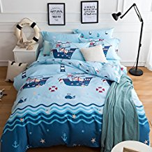 CASA-Pirate-Duvet-cover-set Best Pirate Bedding and Comforter Sets