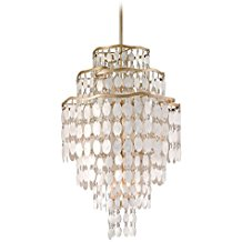 Champagne-Leaf-Dolce-12-Light-Pendant-with-Hand-Crafted-Iron-Frame-and-Authentic-Capiz-Shell-Accents-3154 The Best Capiz Shell Chandeliers You Can Buy
