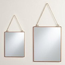 Copper-Rectangular-Metal-Reese-Mirror The Best Rope Mirrors You Can Buy