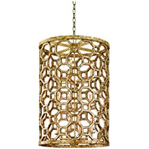 Corbett-Regatta-37-1422H-Capiz-Shell-Mosaic-Pendant-Light-4758 The Best Capiz Shell Chandeliers You Can Buy