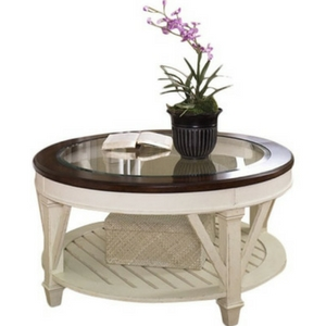 Demaree-Coffee-Table-Glass-Top-Coastal The Best Beach and Coastal Coffee Tables