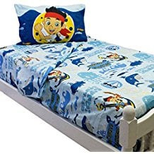 Disney-Jake-and-the-Neverland-Pirates-Twin-Bed-Sheet-Set Best Pirate Bedding and Comforter Sets