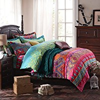 FADFAY-Bohemian-Style-Bedding-Sets-4-Piece-Queen-Size-duvet-cover Bohemian Bedding and Boho Bedding Sets