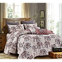 Hedaya-Home-Fashions-Inc.-Caravan-5PC-Comforter-Set Bohemian Bedding and Boho Bedding Sets