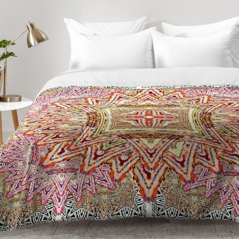 Ingrid-Padilla-Boho-Vintage-Comforter-Set Bohemian Bedding and Boho Bedding Sets