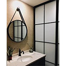 Iron-Rope-Hanging-Round-Mirror The Best Rope Mirrors You Can Buy