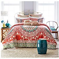 Jessica-Simpson-Amrita-Medallion-Comforter-Collection-TwinTwin-XL-Comforter-Set Bohemian Bedding and Boho Bedding Sets