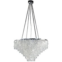 KOUBOO-Jewel-Capiz-Chandelier The Best Capiz Shell Chandeliers You Can Buy