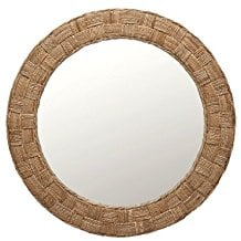 KOUBOO-Round-Rope-Wall-Mirror-Chequered The Best Rope Mirrors You Can Buy