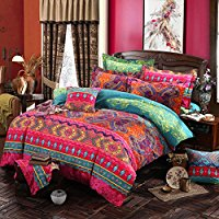 MAXYOYO-NewBoho-Style-Duvet-Cover-Set Bohemian Bedding and Boho Bedding Sets