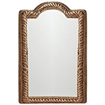 Navagio-Coastal-Beach-Jute-Rope-Arched-Wall-Mirror The Best Rope Mirrors You Can Buy