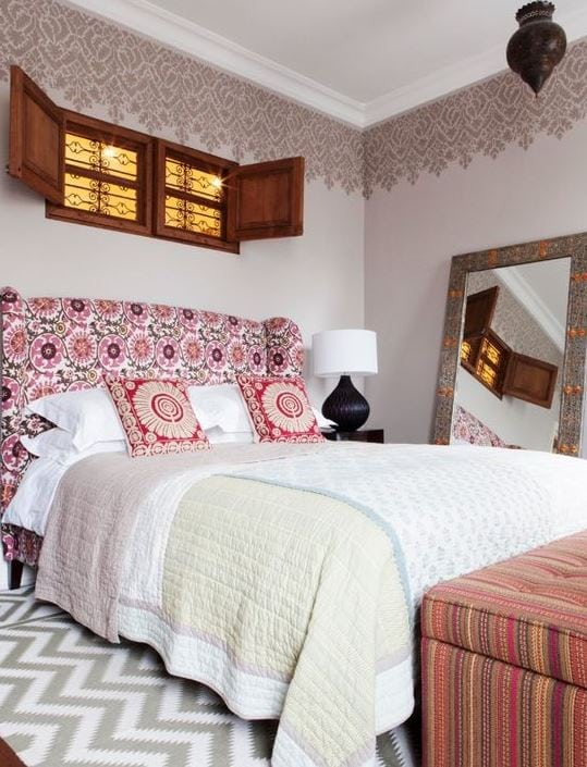 Notting-Hill-House-by-Studio-Morton Bohemian Bedding and Boho Bedding Sets