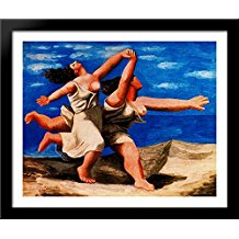 Pablo-Picasso-Two-Women-Running-on-the-Beach The Best Beach Paintings You Can Buy