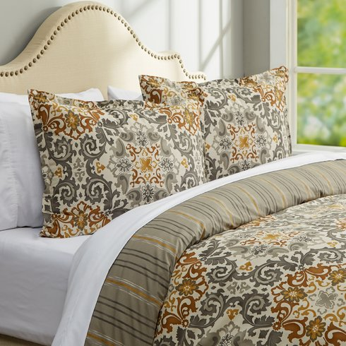 Riverside-Comforter-Set Bohemian Bedding and Boho Bedding Sets