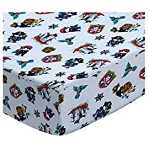SheetWorld-Fitted-Crib-Toddler-Sheet-Pirates Best Pirate Bedding and Comforter Sets