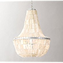 Sky-Empire-Chandelier-Rectangular-Coastal-Capiz-Shells-299 The Best Capiz Shell Chandeliers You Can Buy