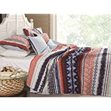 Urban-Boho-Quilt-Set-3-Piece-FullQueen Bohemian Bedding and Boho Bedding Sets