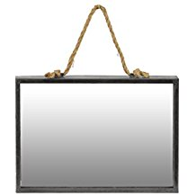 Urban-Trends-Metal-Rectangular-Wall-Mirror-with-Rope-Hanger The Best Rope Mirrors You Can Buy