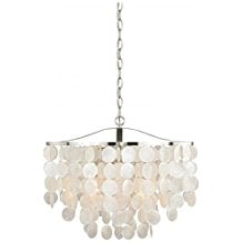 Vaxcel-P0139-Elsa-Capiz-Shell-Pendant-300 The Best Capiz Shell Chandeliers You Can Buy