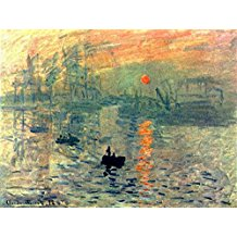 Wieco-Art-Sunset-by-Claude-Monet-Famous-Oil-Paintings The Best Beach Paintings You Can Buy