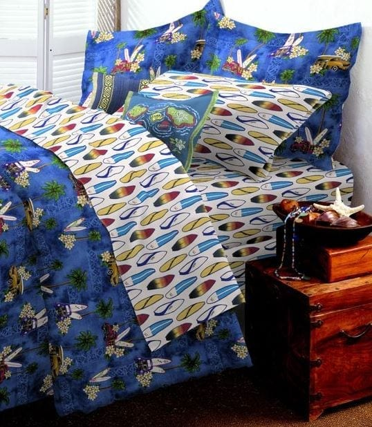 Woody-Car-Bedroom-by-Dean-Miller Best Surf Bedding and Comforter Sets