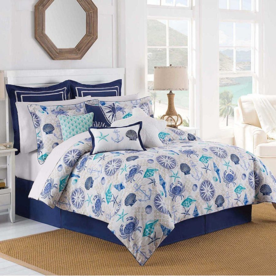 Anchor Bedding Sets And Anchor Comforter Sets Beachfront