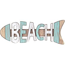 beach-fish-shaped-signs 100+ Wooden Beach Signs and Wooden Coastal Signs