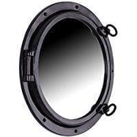 black-gloss-fiberglass-porthole-mirror The Best Nautical Mirrors You Can Buy