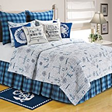 c-and-f-enterprises-anchor-themed-quilt Best Anchor Bedding and Comforter Sets