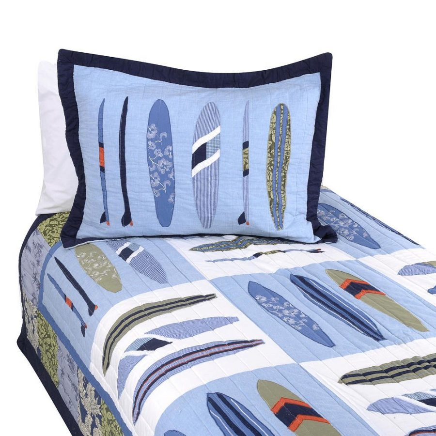 catch-a-wave-surf-quilt Best Surf Bedding and Comforter Sets